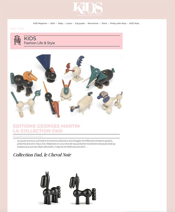 article editions georges martin sur kids magazine.com